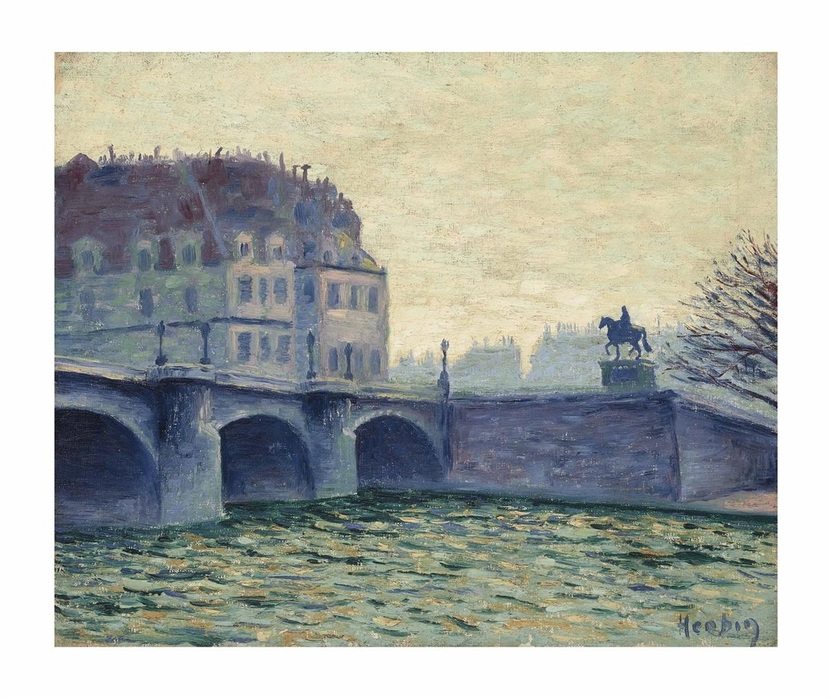 Auguste Herbin-Pont Neuf-1902