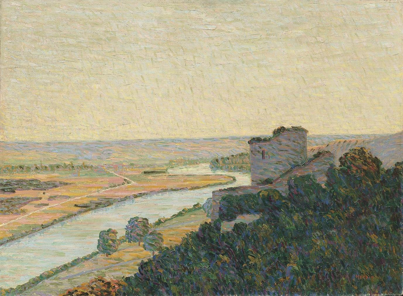 Auguste Herbin-Le Chateau-Gaillard-1906