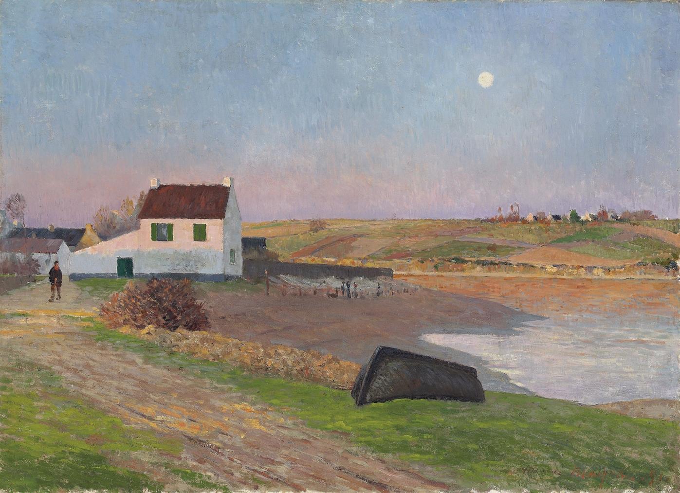 Maxime Maufra-Le Port Du Pouldu, L'embouchure De La Laita-1891