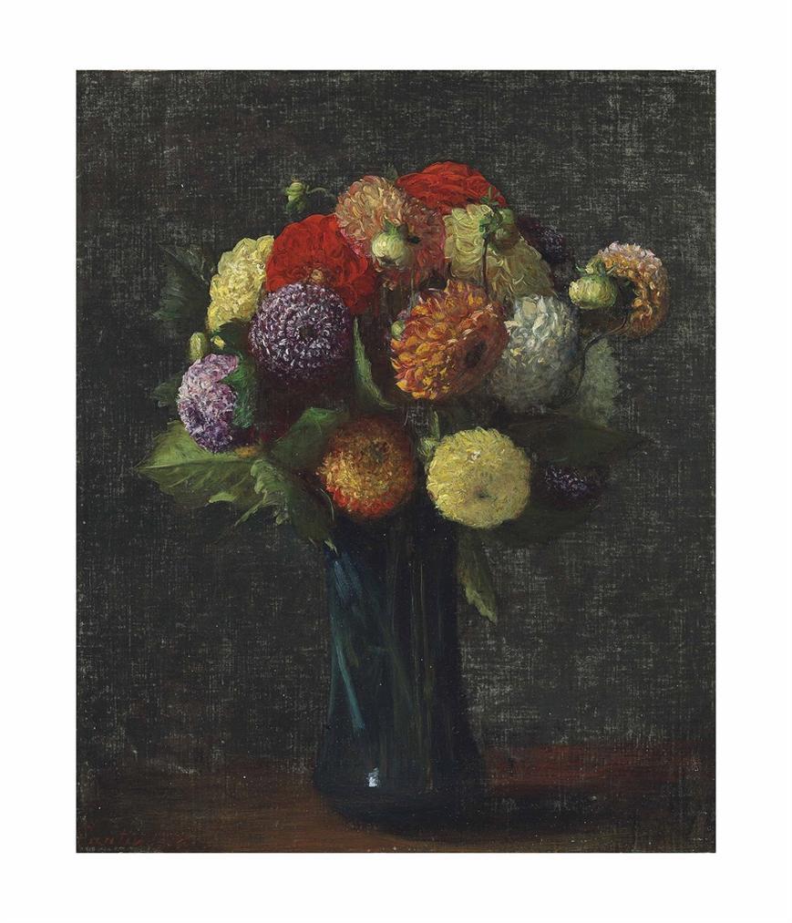 Henri Fantin-Latour-Dahlias-1874