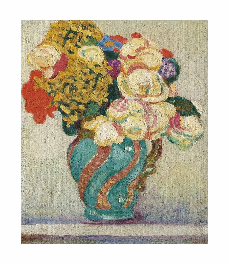 Louis Valtat-Bouquet De Fleurs-1903
