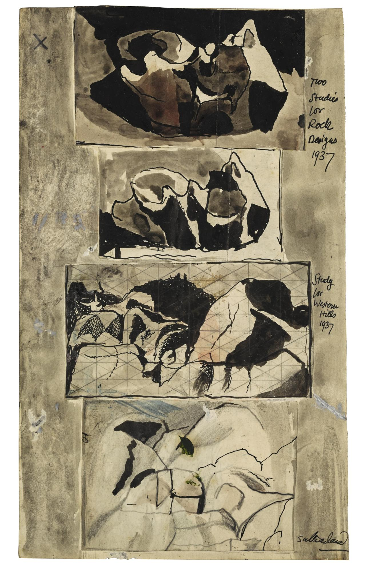 Graham Sutherland-Four Studies-1937