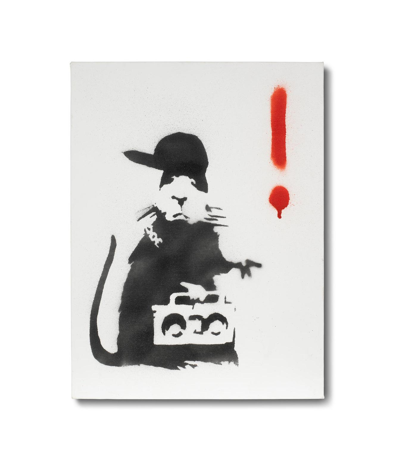 Banksy-Gangsta Rat-2004