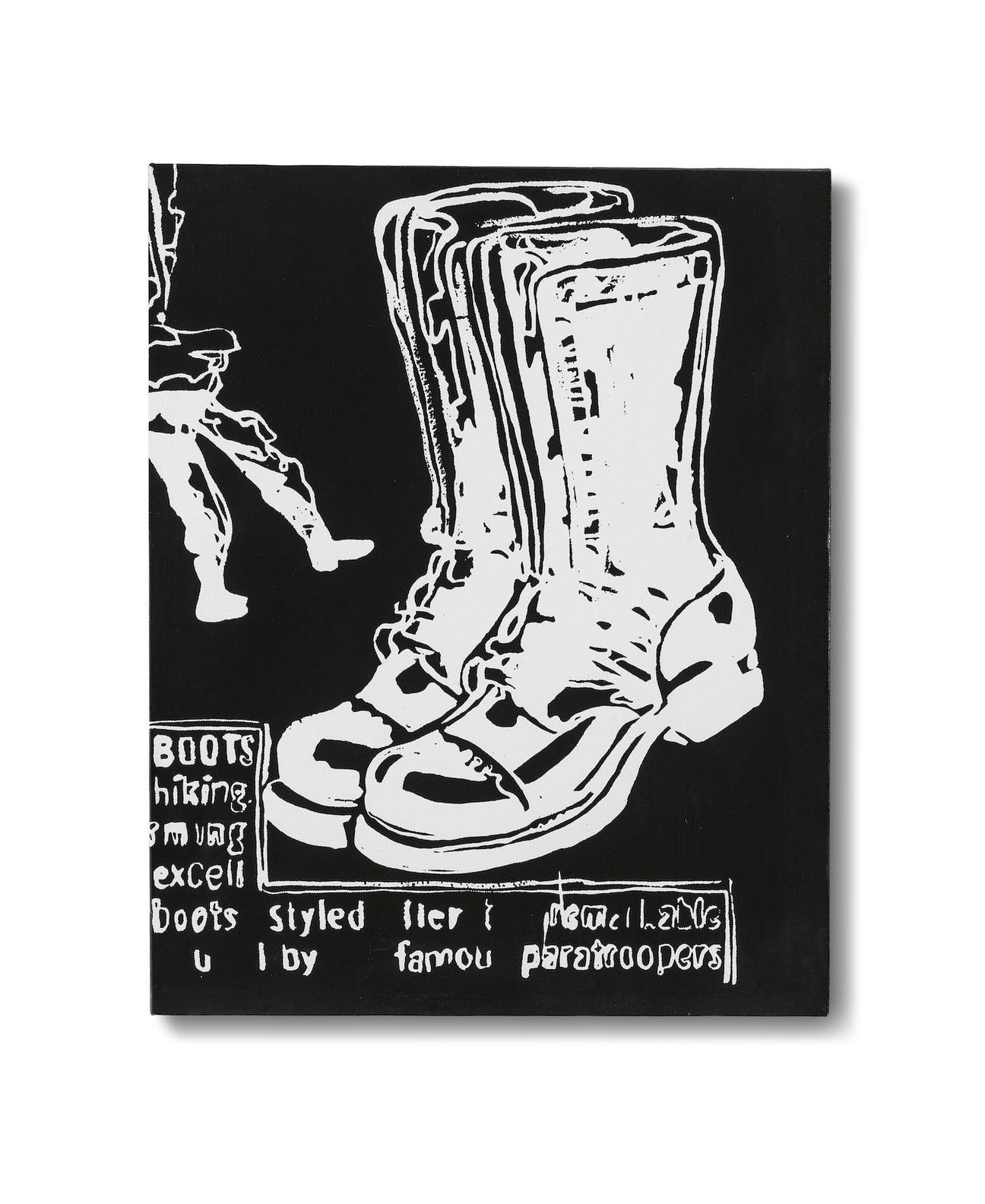 Andy Warhol-Paratrooper Boots-1986
