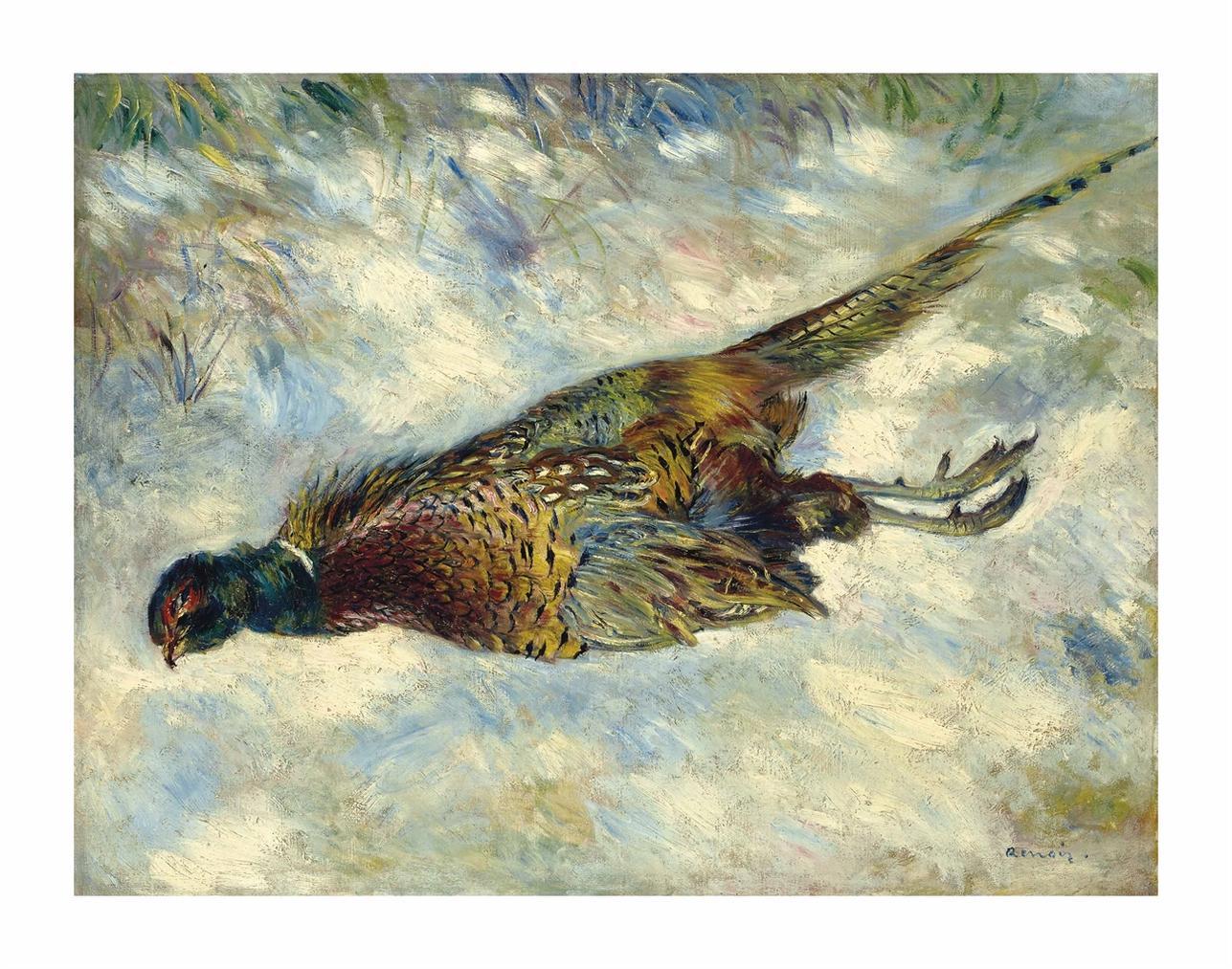 Pierre-Auguste Renoir-Le Faisan-1879
