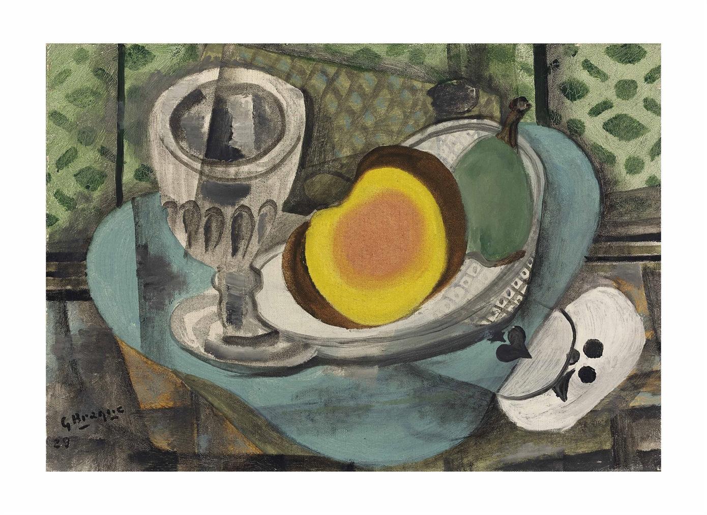 Georges Braque-Les Deux As-1929