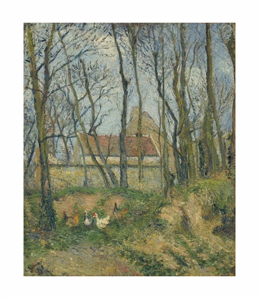 Camille Pissarro-La Sente Des Pouilleux, Pontoise-1878