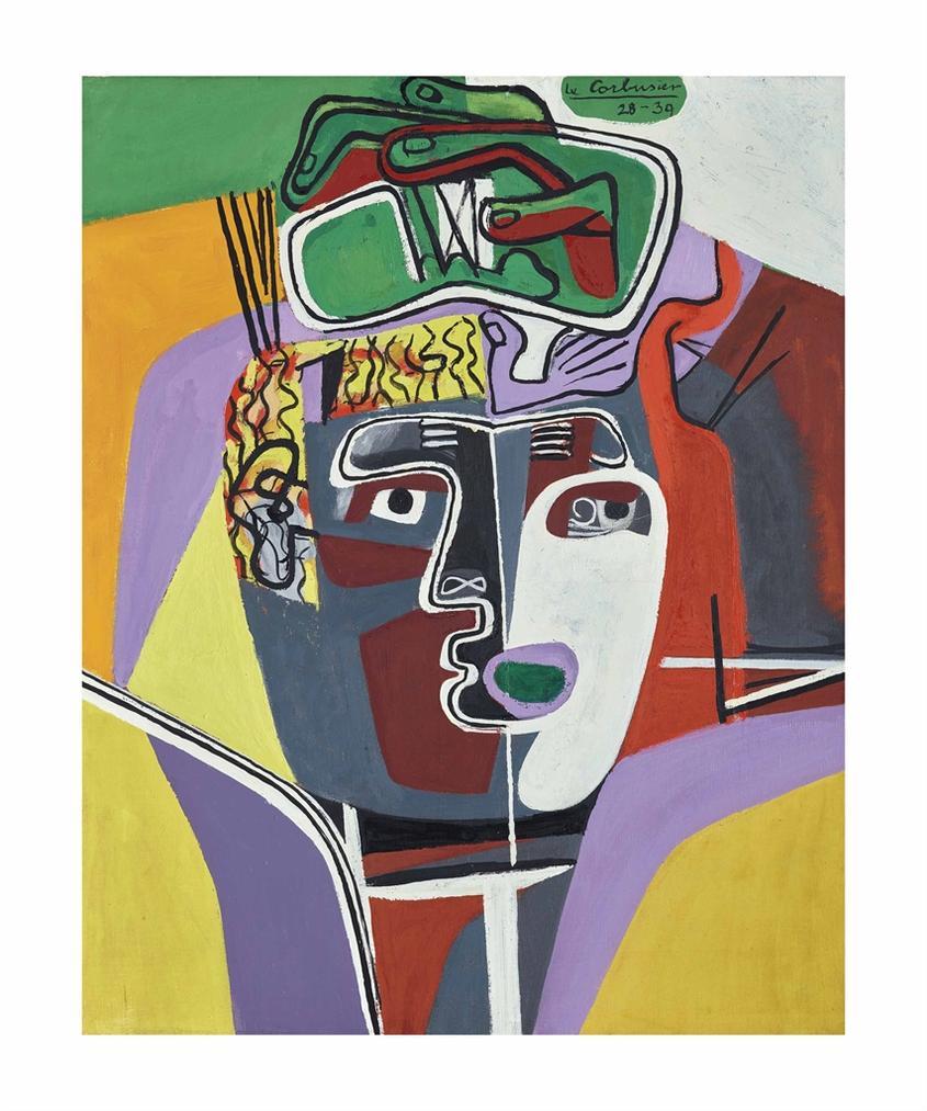Le Corbusier-Mains Croisees Sur La Tete-1940