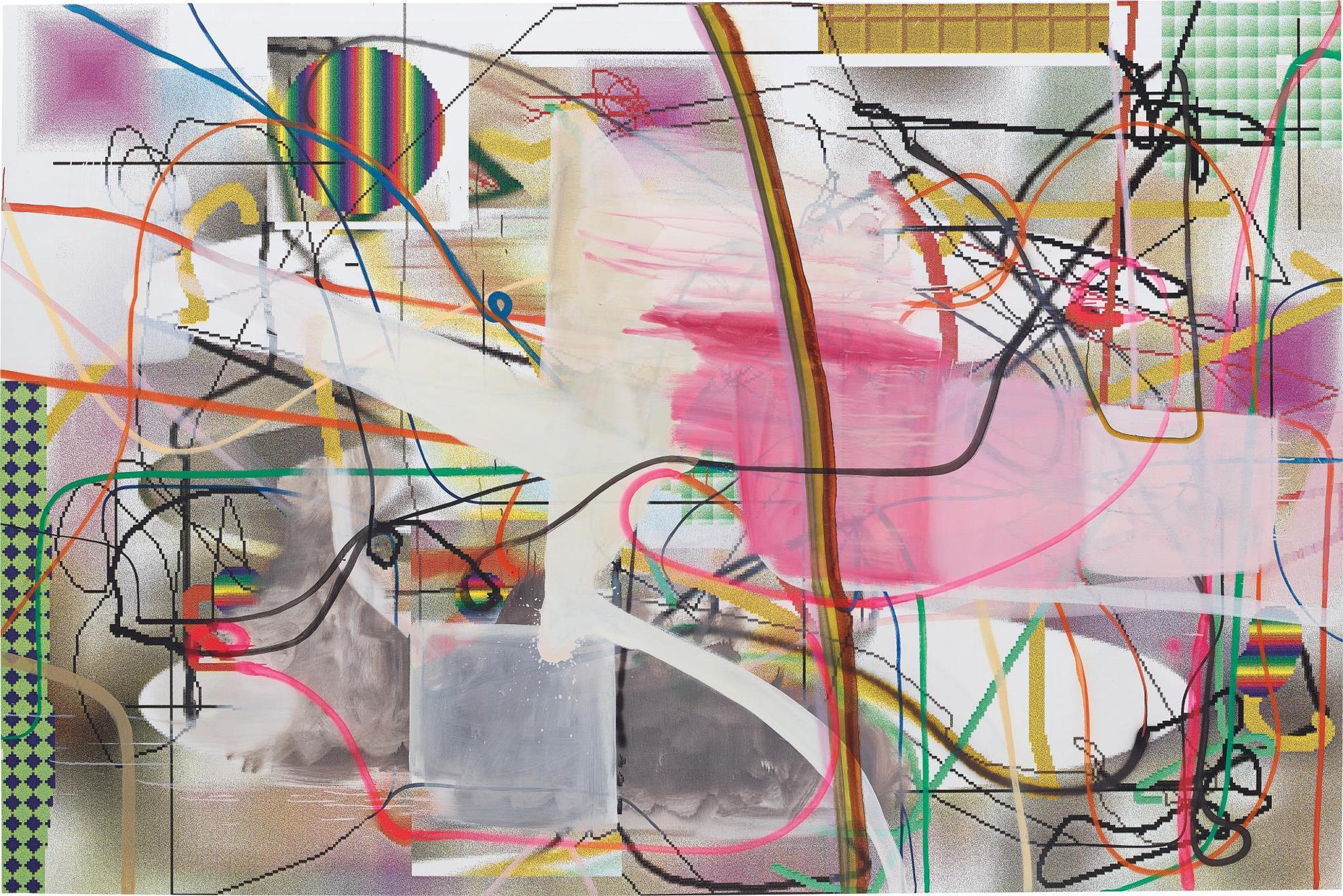 Albert Oehlen-Abyss-1997