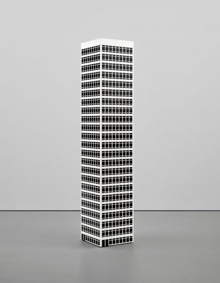 Julian Opie-Modern Tower. 10-2001