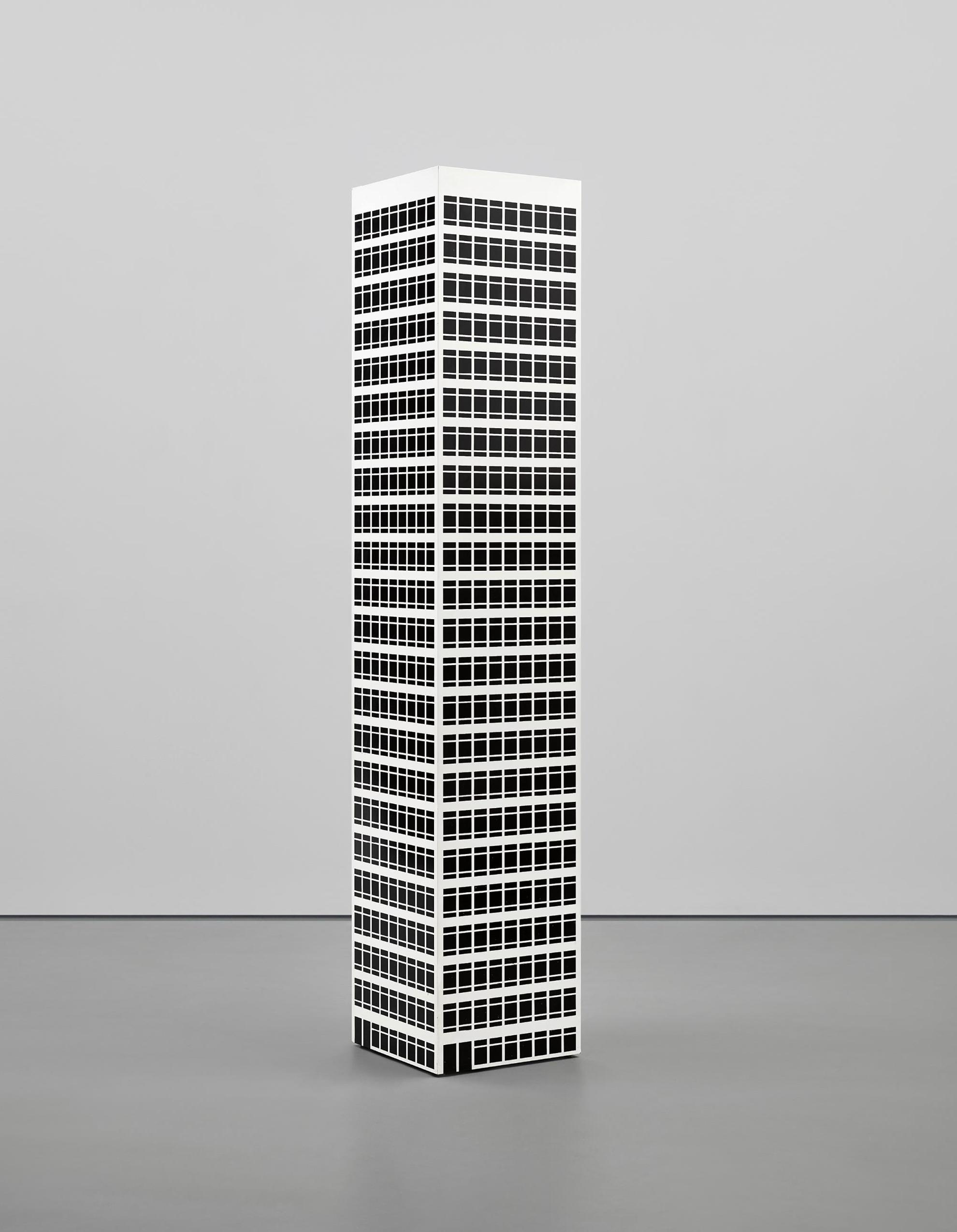 Julian Opie-Modern Tower. 10-2001