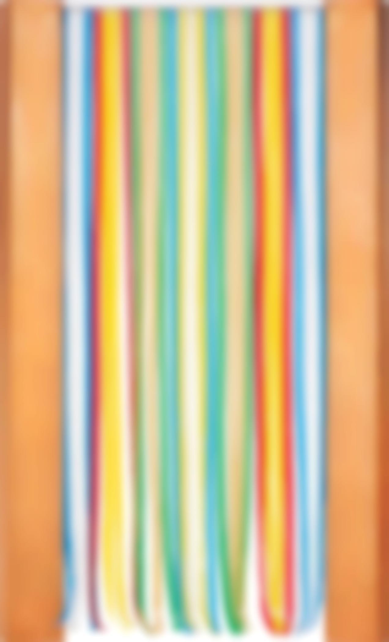 John Armleder-Untitled (Curtain)-1988