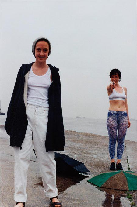 Wolfgang Tillmans-Rylan & Paula Shooting-1996