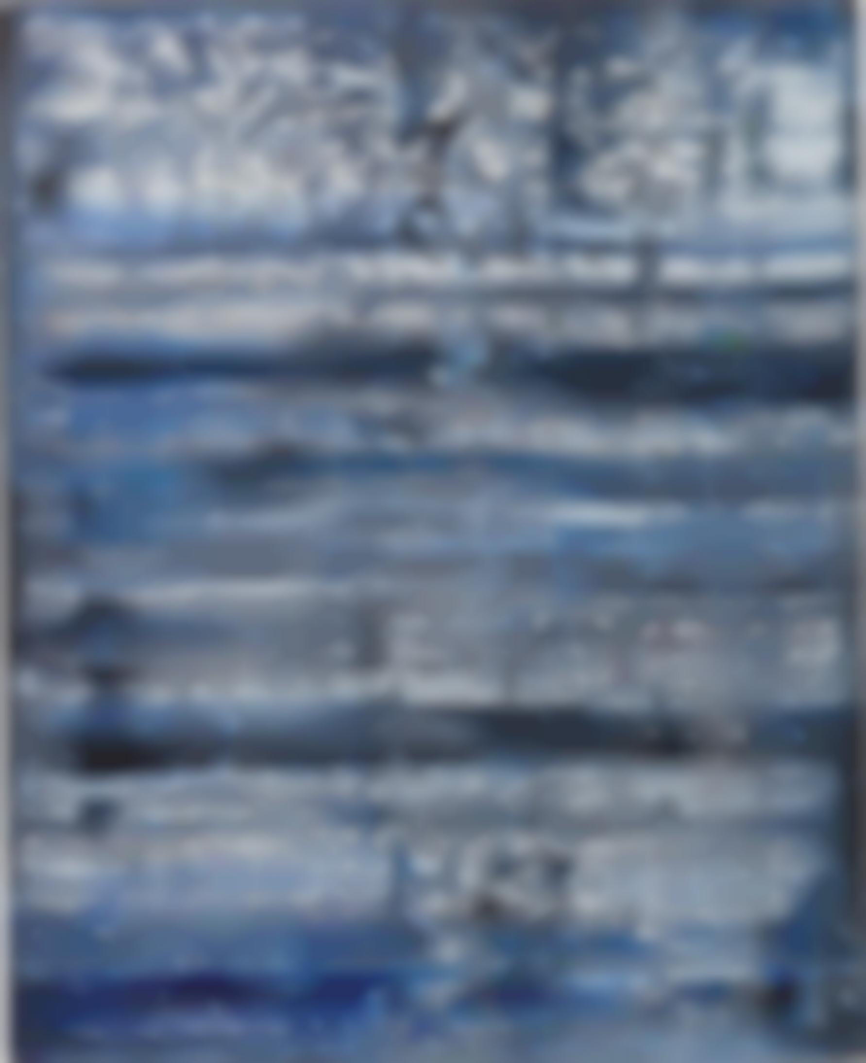 Bernard Andreoletti-Blue No. 4-2016