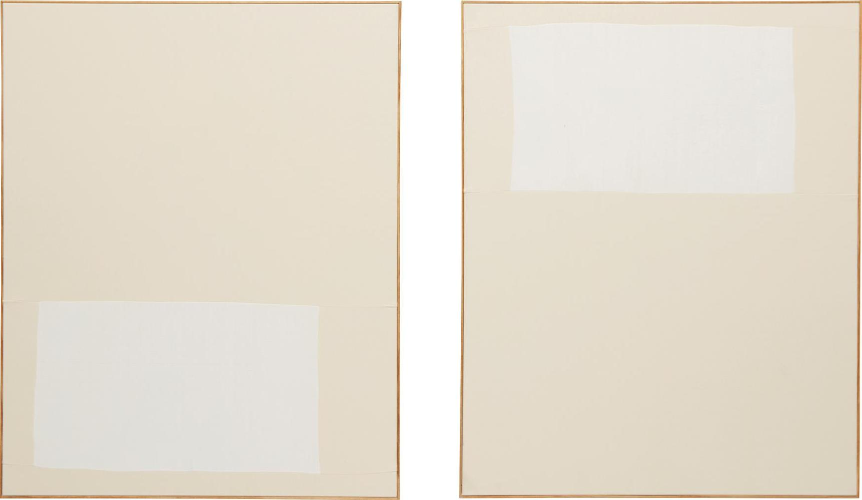 Ethan Cook-Two Works: (i) Untitled; (ii) Untitled-2013