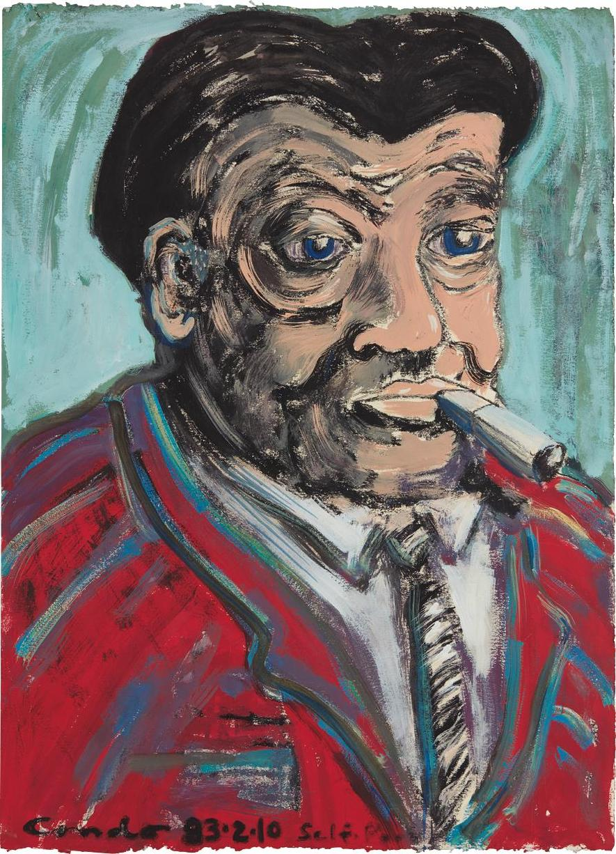 George Condo-Self-Portrait-1983