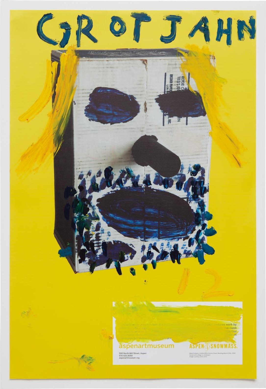 Mark Grotjahn-Untitled (Blonde Mg43.68)-2012