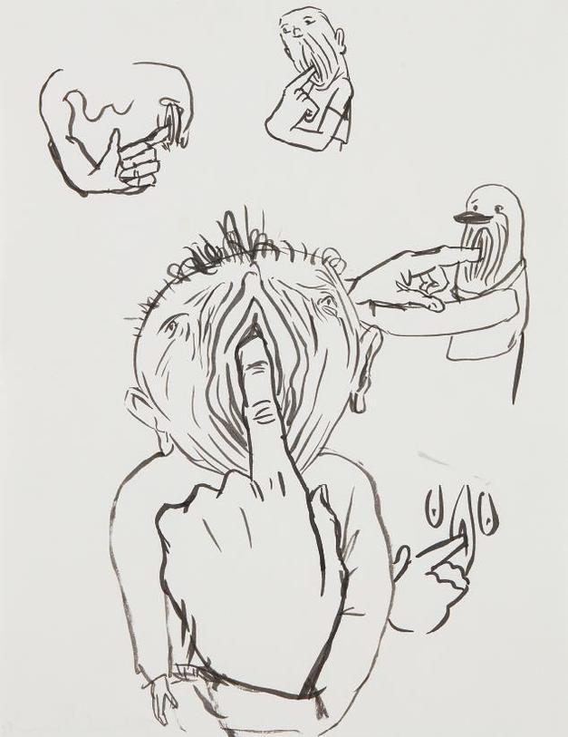 Nicole Eisenman-Untitled-1993