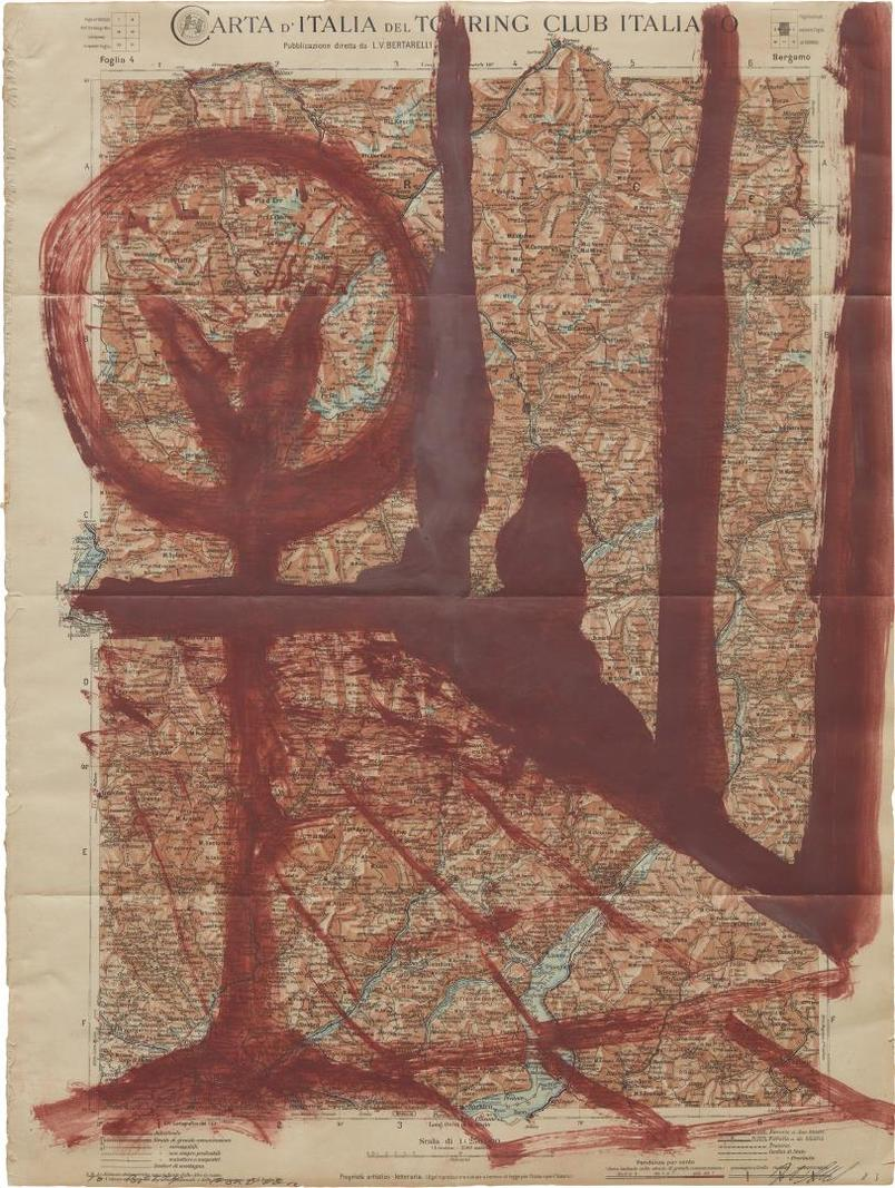 Julian Schnabel-Arta Ditalia Del Touring Club Italiano-1983