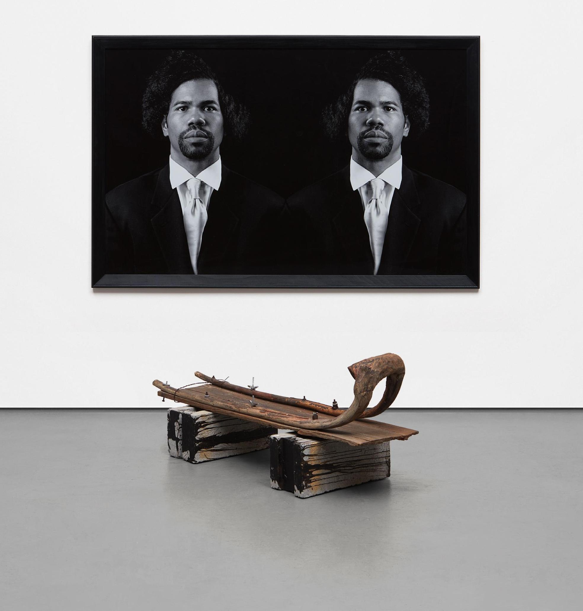 Rashid Johnson-The New Negro Escapist Social And Athletic Club (Emmett)-2008