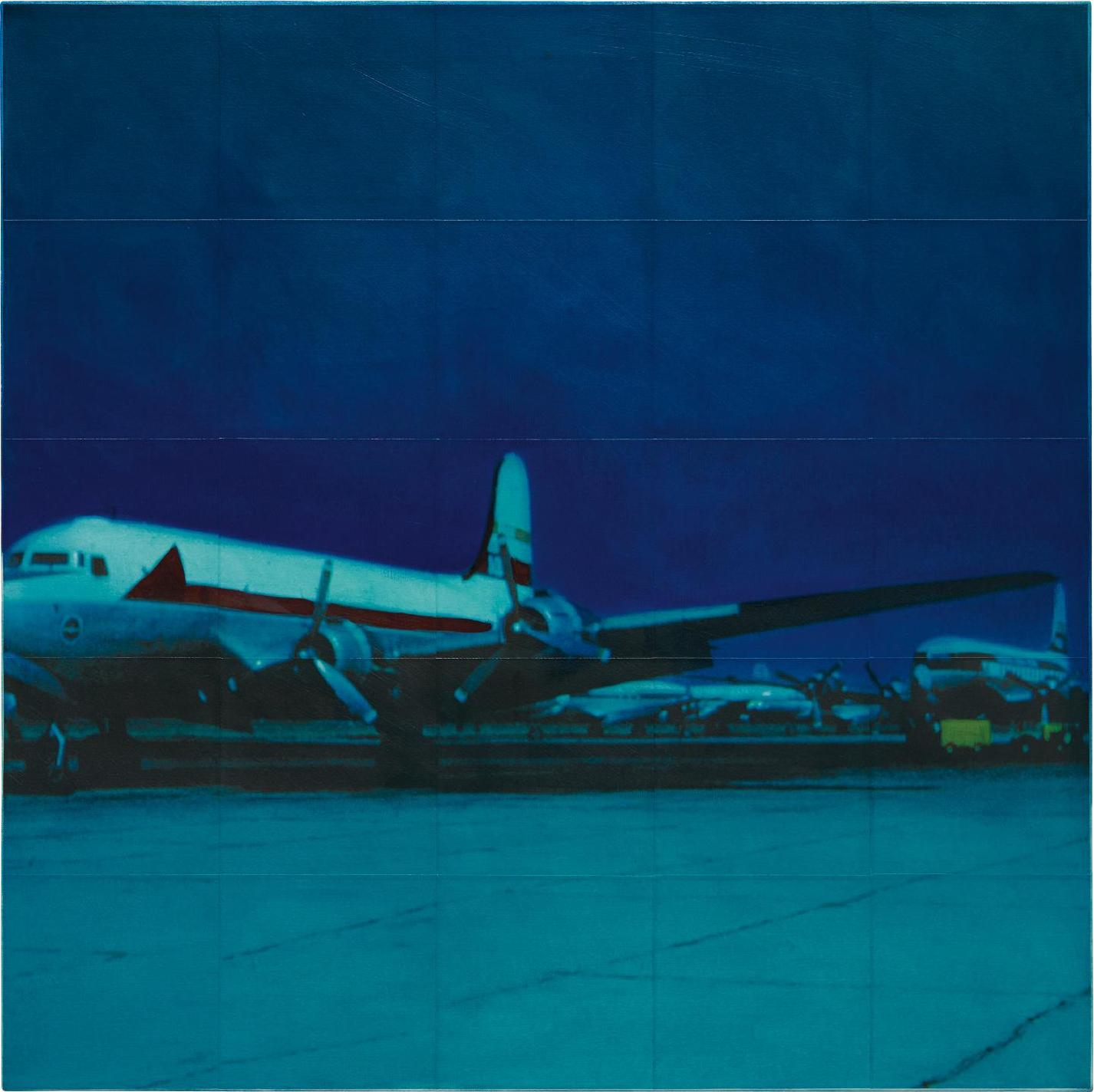 Isca Greenfield-Sanders-Blue Plane-2002