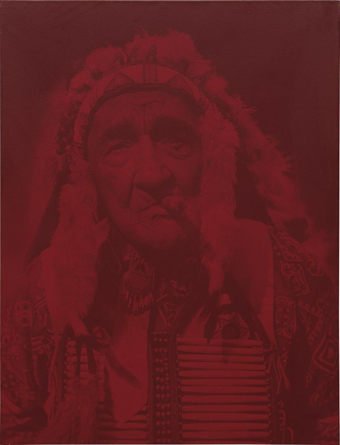 Gottfried Helnwein-Chief Red Fox-2000