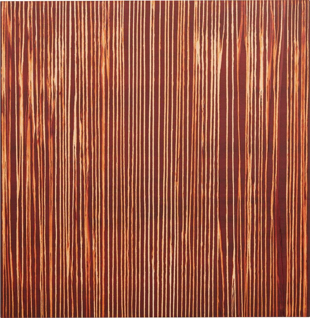 Callum Innes-Repetition Red Oxide-2013