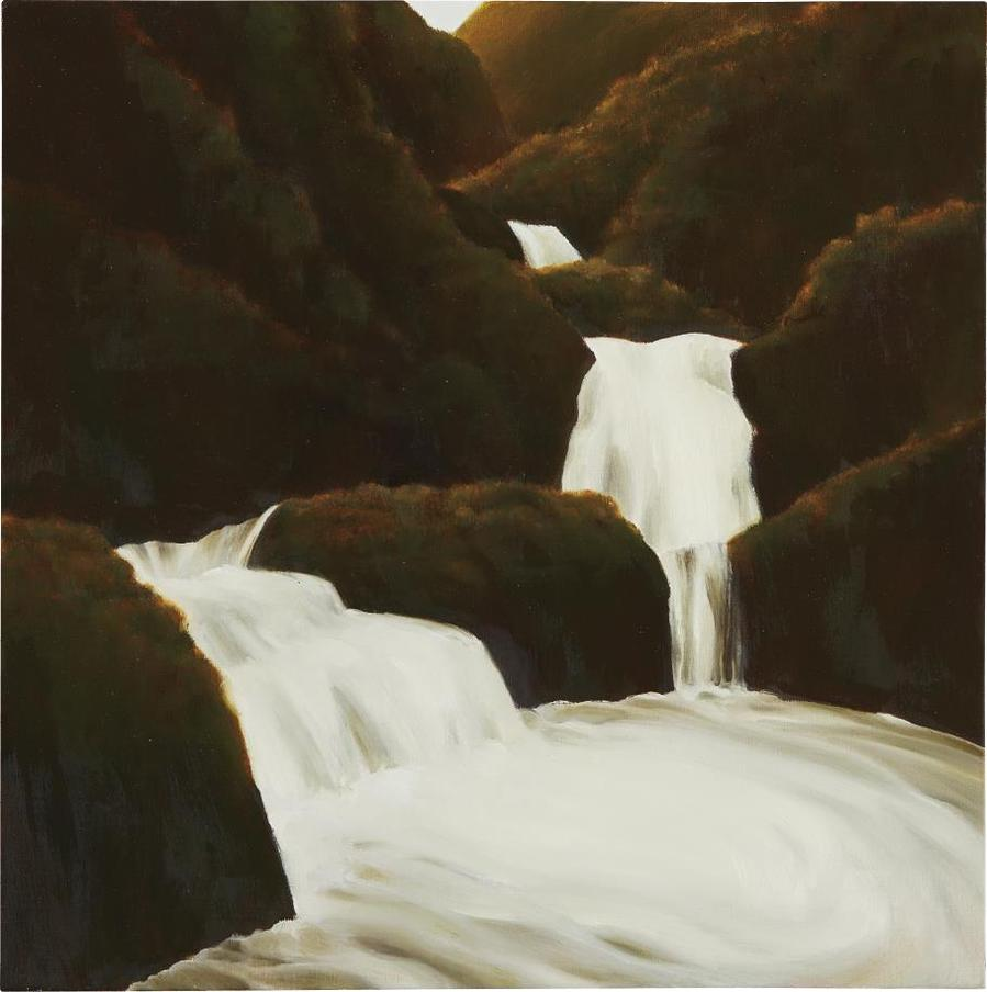 April Gornik-Turning Waterfall-1997