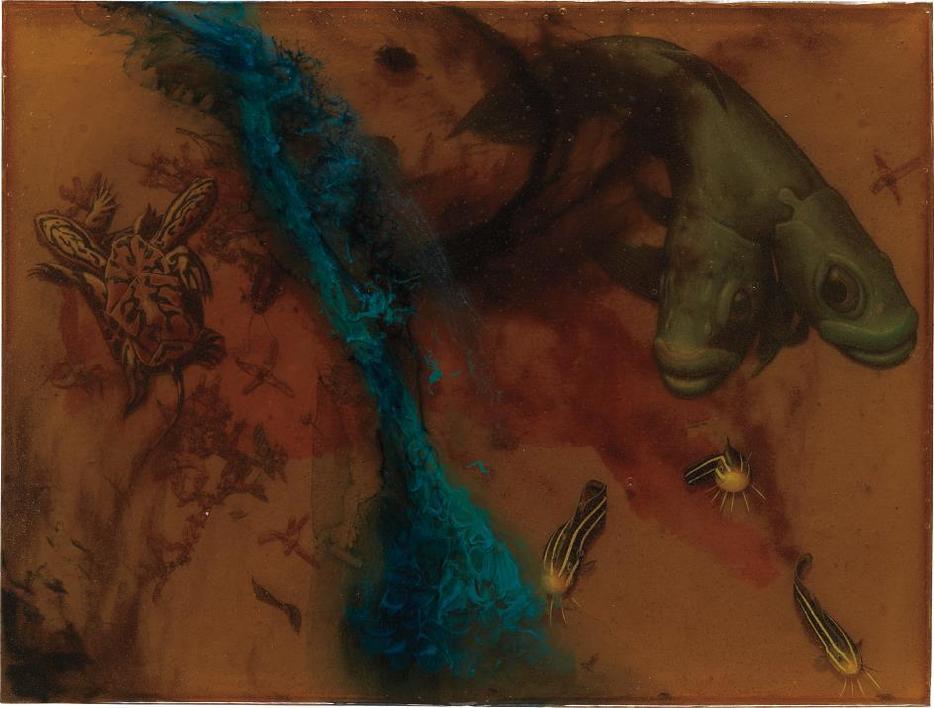 Alexis Rockman-Benjamin Moore Blue #7-1996