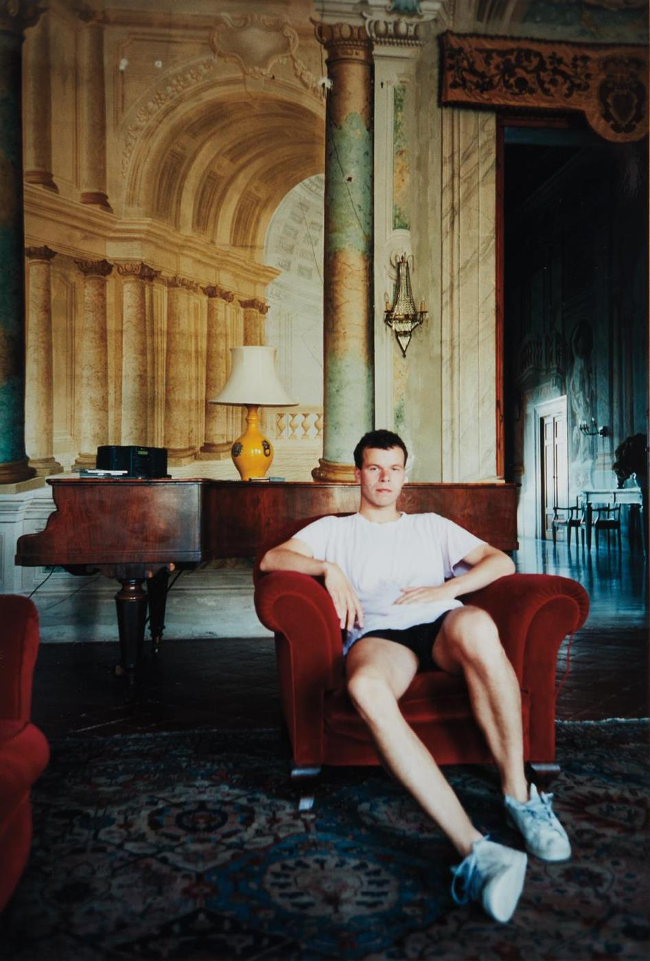 Wolfgang Tillmans-Selbstportrait (August 97)-1997