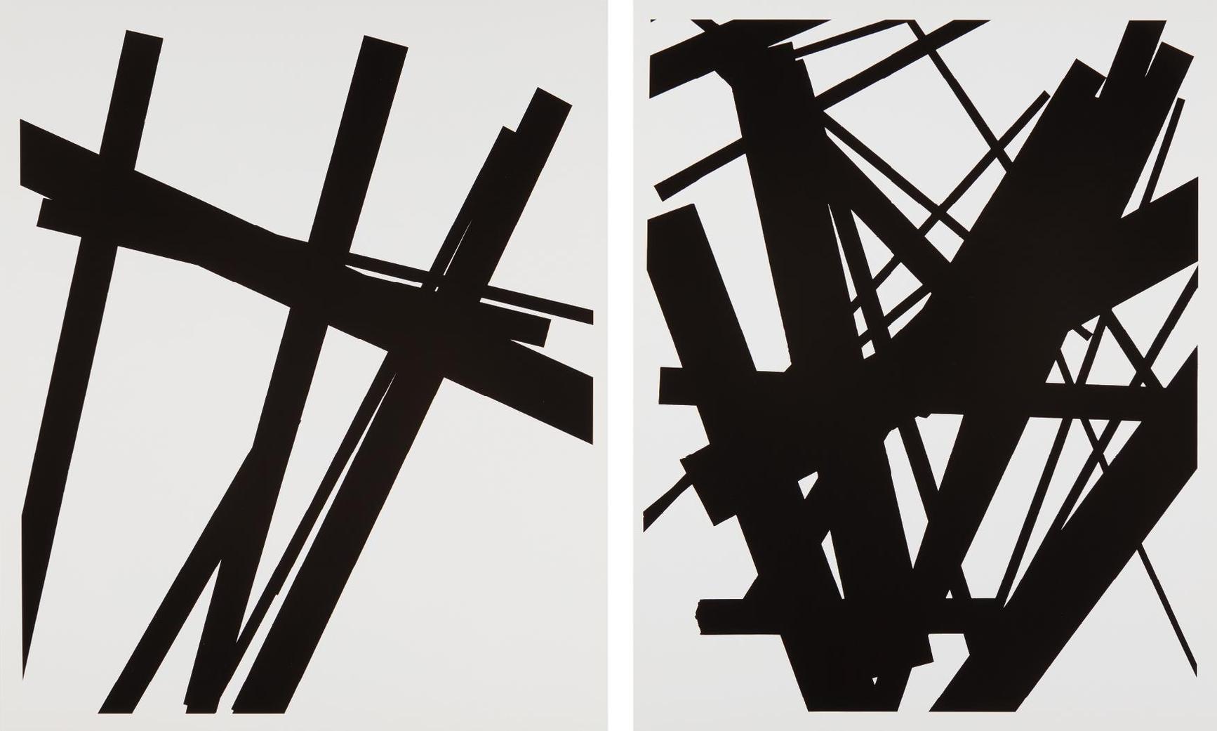 James Welling-Two Works: (i) #19; (ii) #7-1998