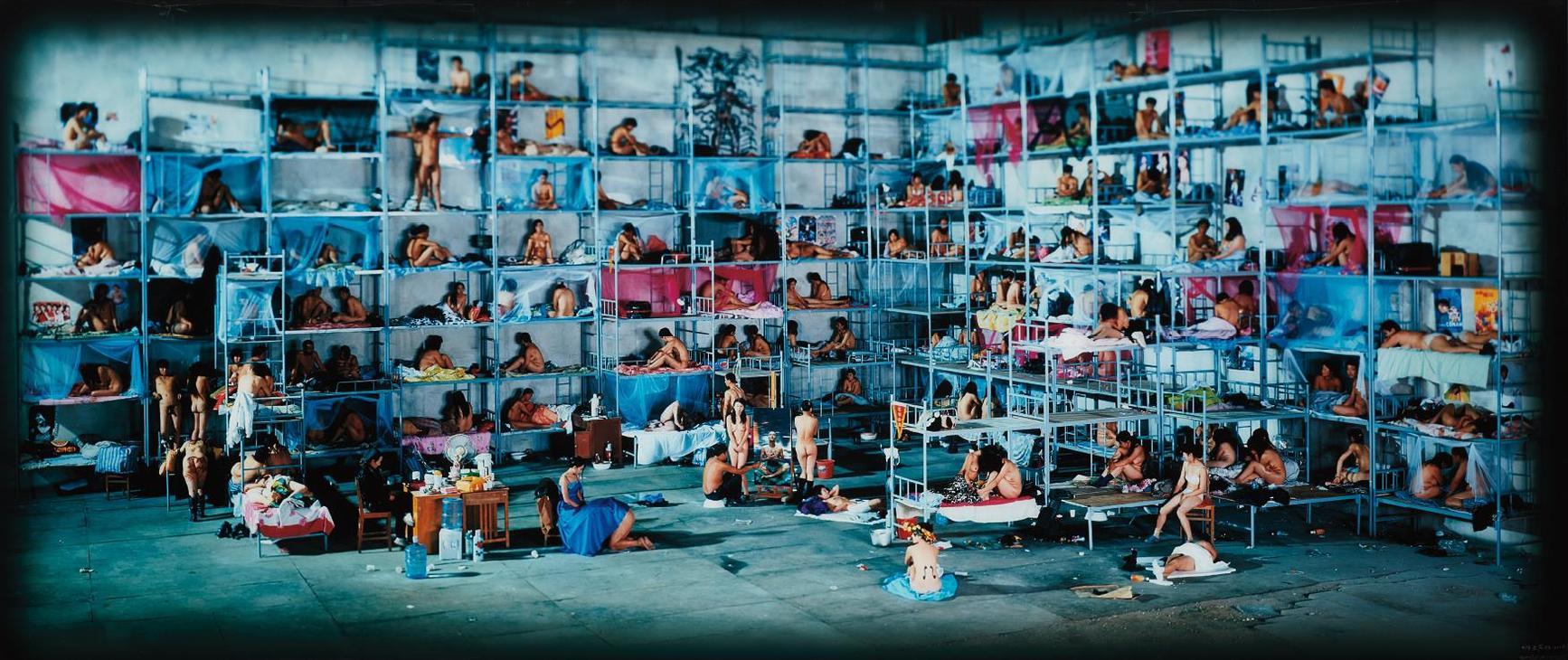 Wang Qingsong-Dormitory-2005