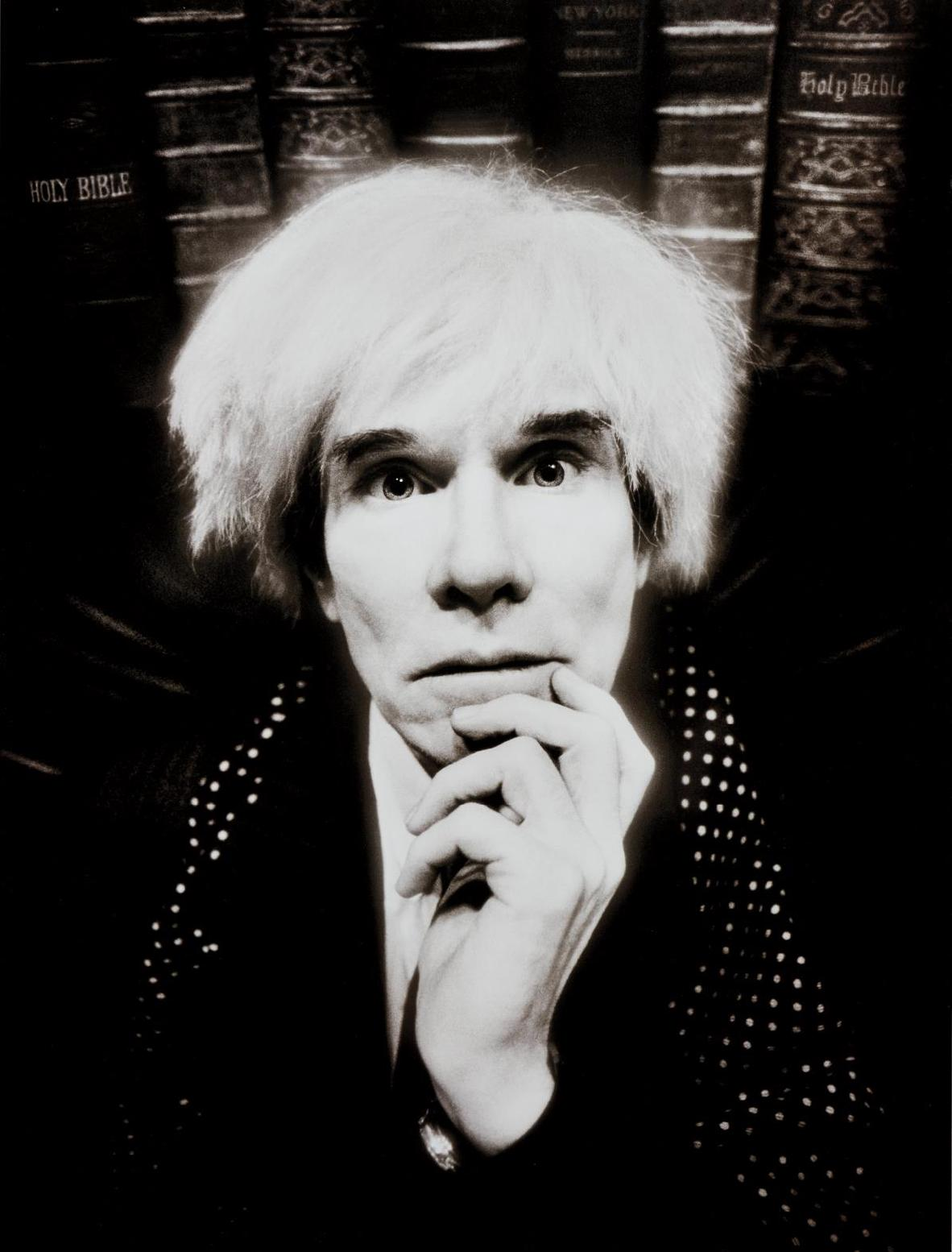 David LaChapelle-Andy Warhol: Last Sitting, November 22-1987