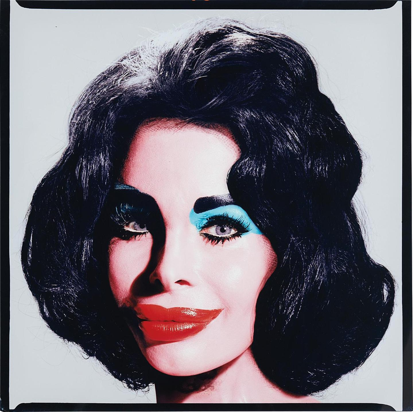 David LaChapelle-Amanda As Andy Warhols Liz Taylor-2003