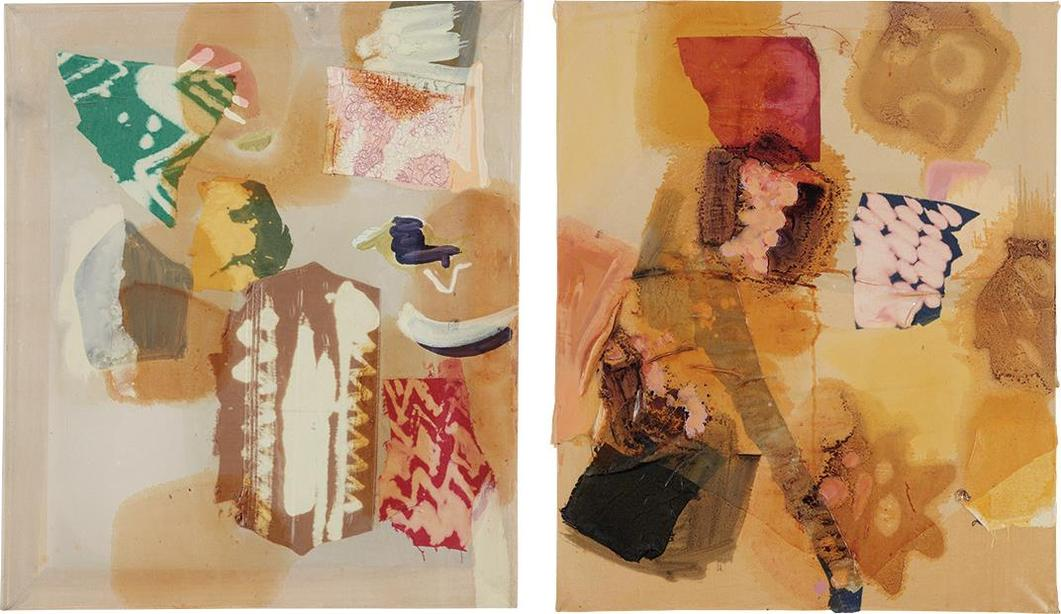 Lauren Luloff-Two Works: (i) Pale; (ii) Golden-2011