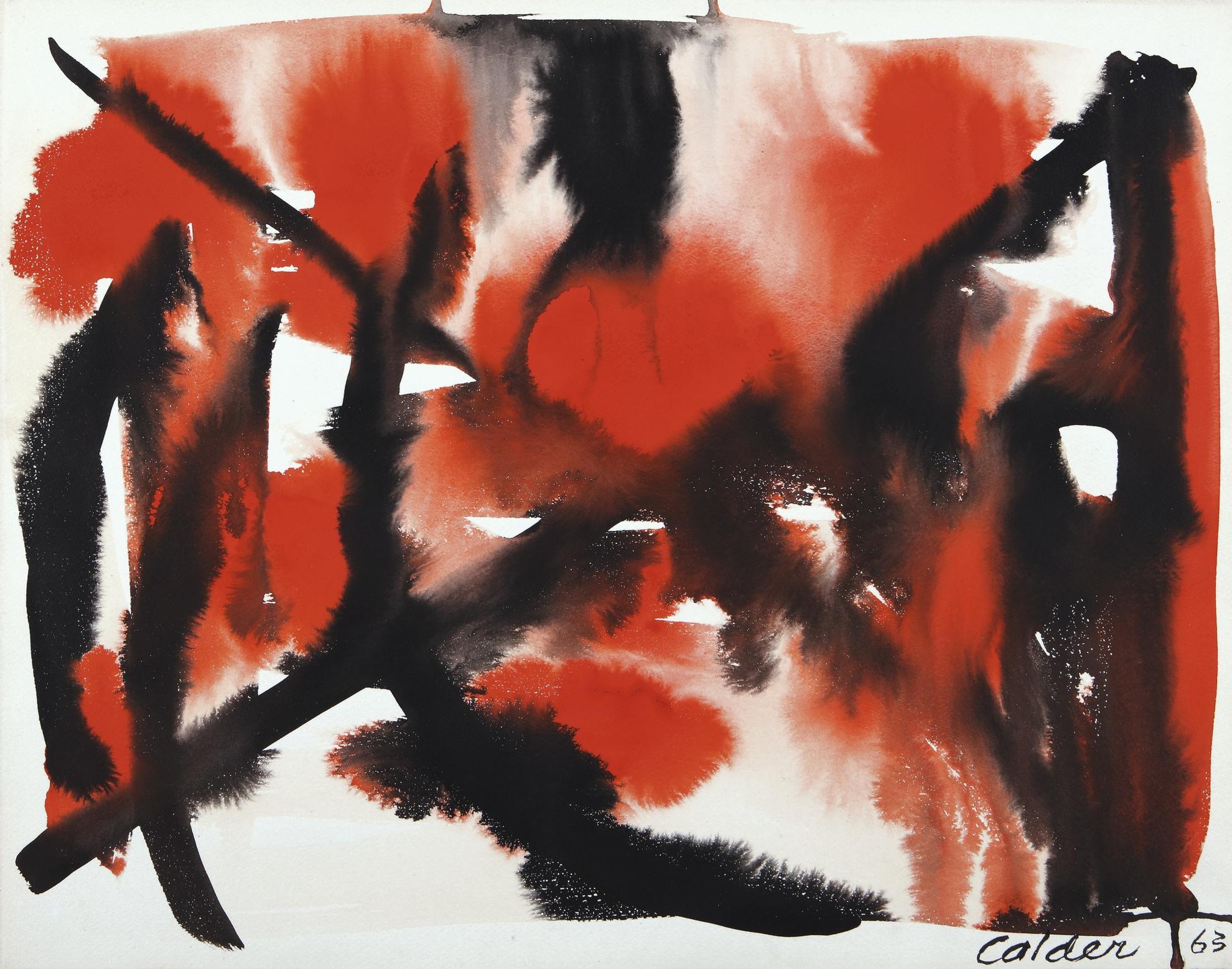 Alexander Calder-Cross Roads-1963