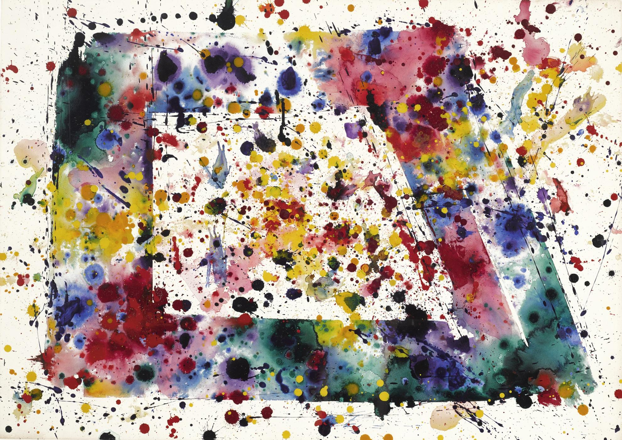 Sam Francis-Untitled-1975