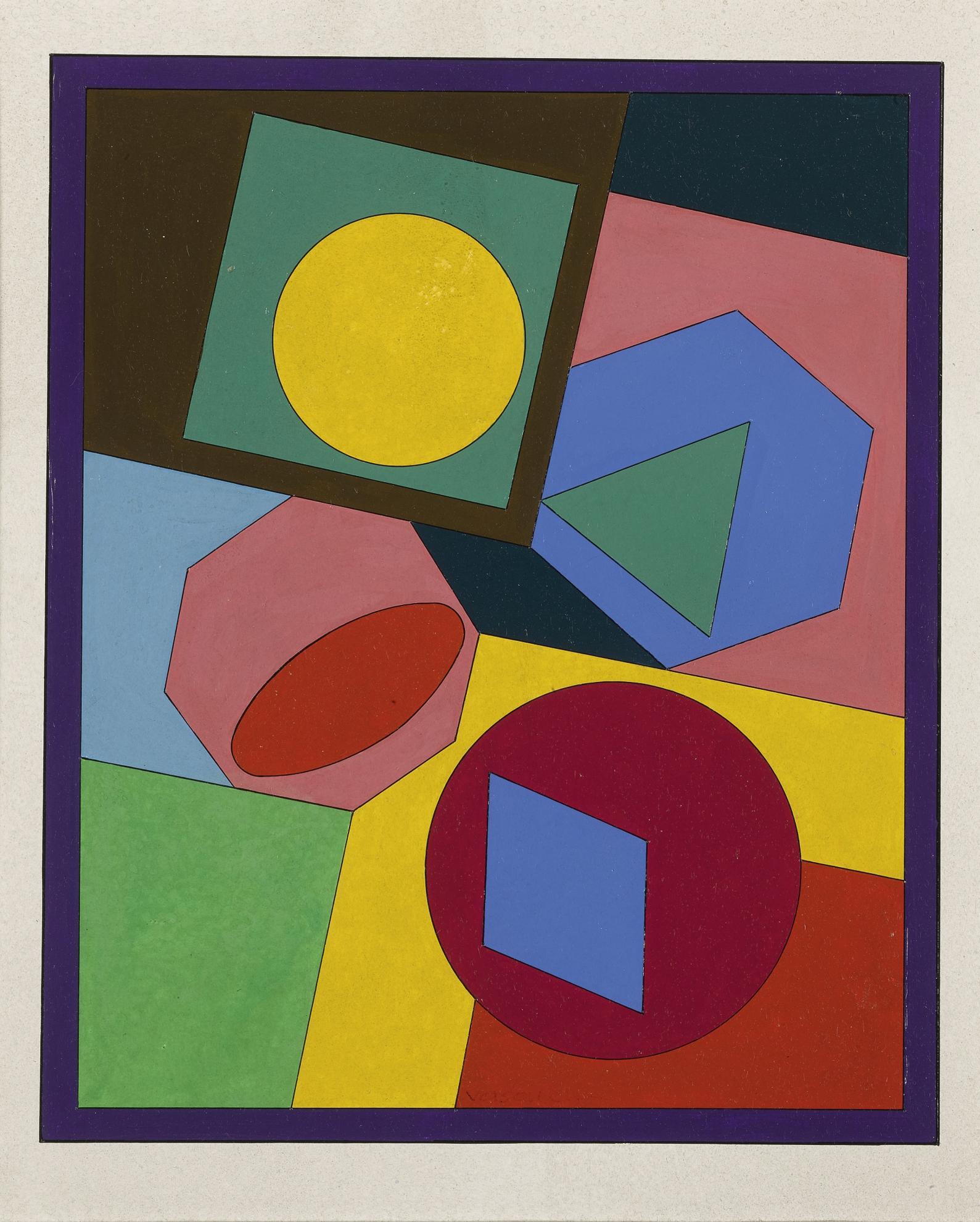 Victor Vasarely-Orias-1980