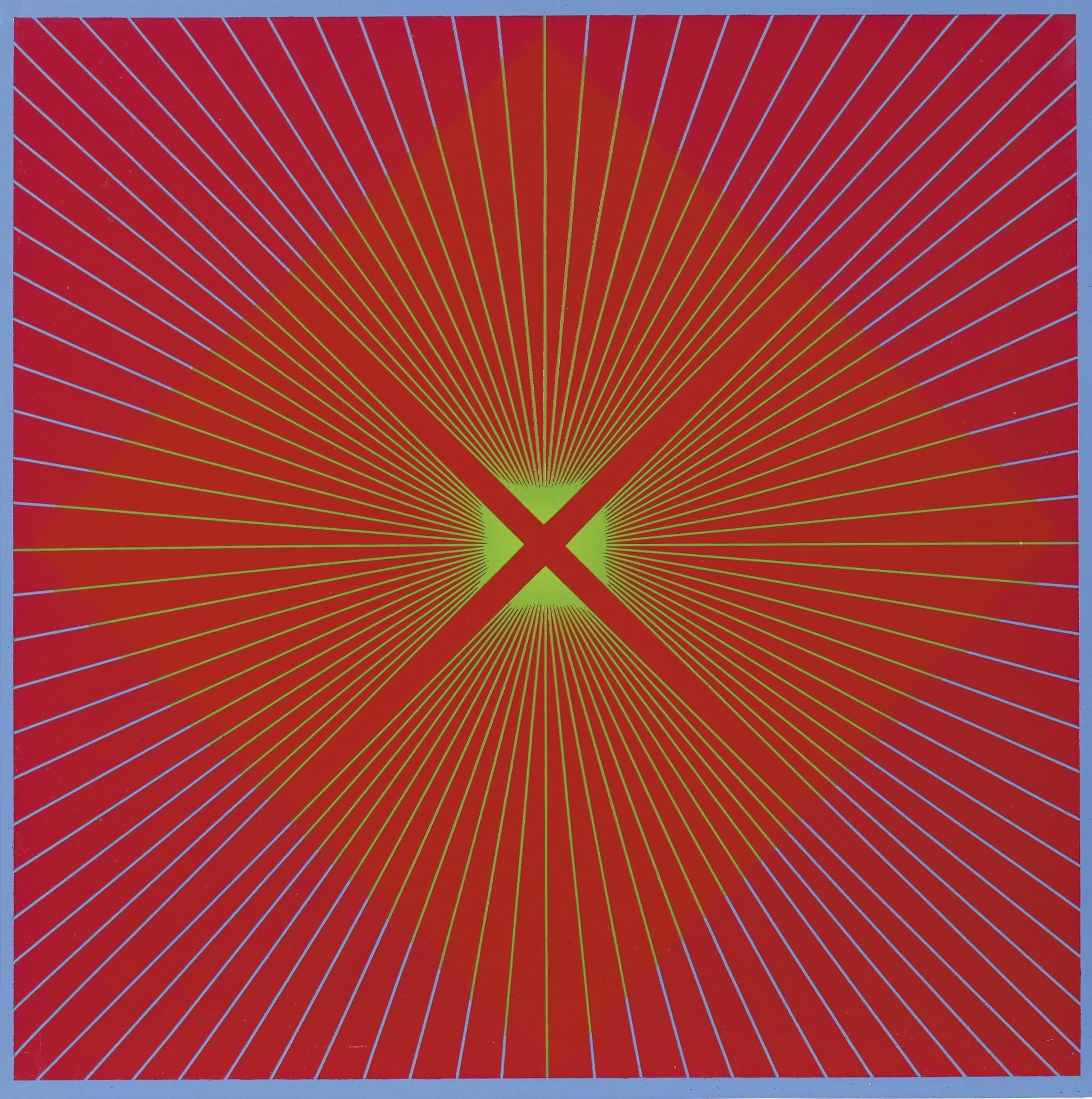 Richard Anuszkiewicz-Untitled-1964