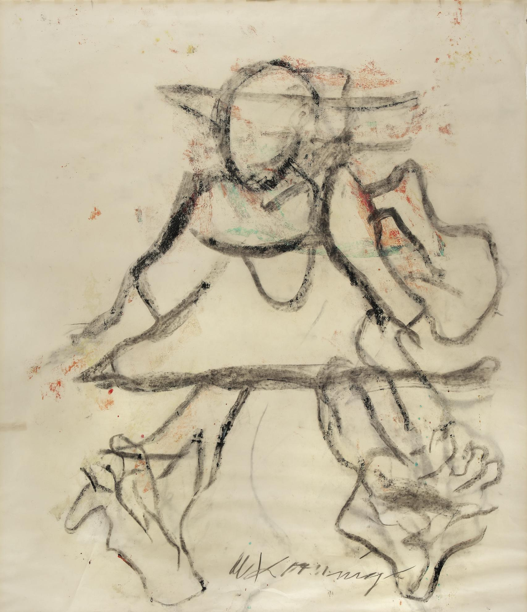 Willem de Kooning-Figure-1972