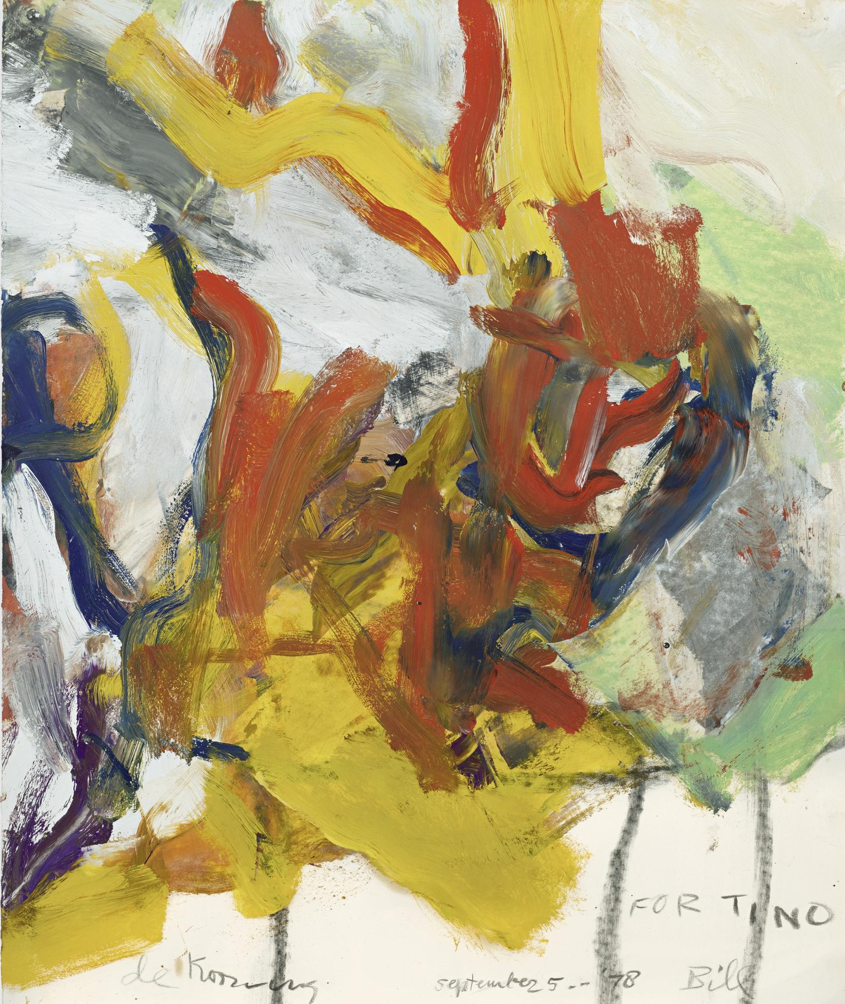 Willem de Kooning-Untitled-1978