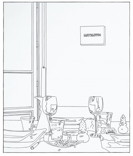Louise Lawler-Still Life (Candle) (Traced)-2003