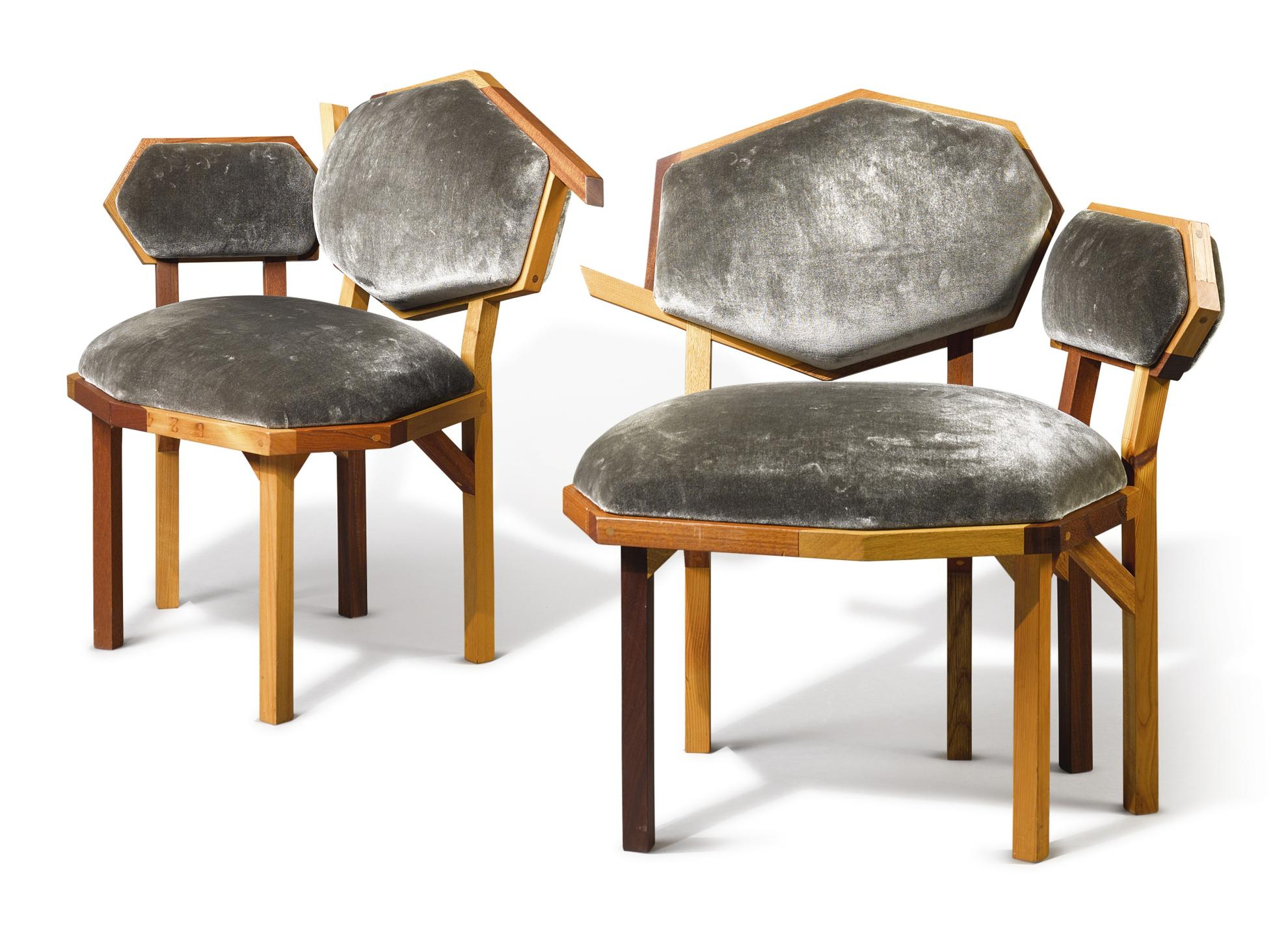 Martino Gamper - Two 'Rita' Chairs-2010