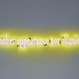 Joseph Kosuth-'Neither Appearance Nor Illusion'-2008