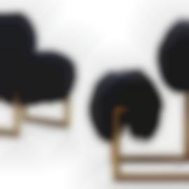 Nanda Vigo-Pair Of 'Due Piu' Chairs-1971