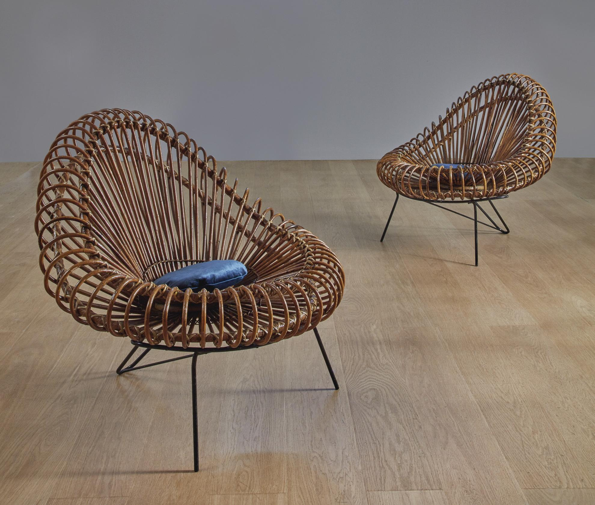 Attributed To Janine Abraham And Dirk Jan Rol - Pair Of Chairs-1957