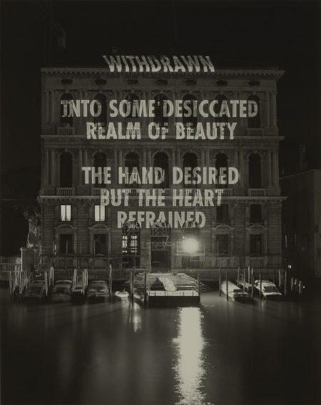Jenny Holzer-The Hand Desired...-2004