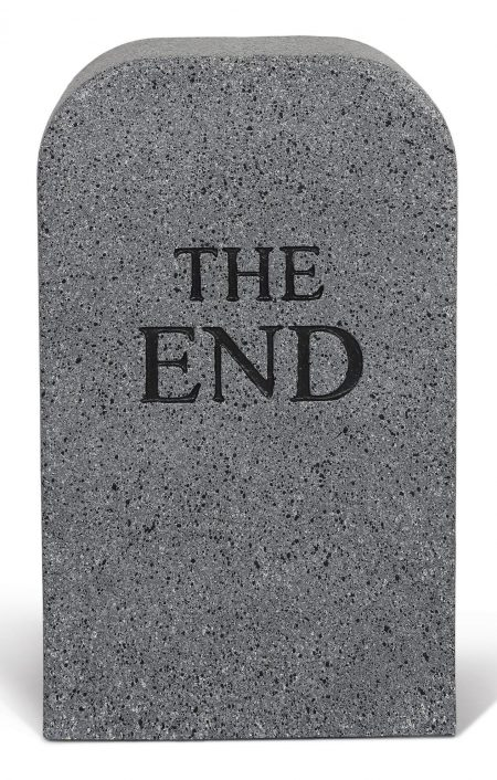 Maurizio Cattelan-The End - Pouf-2014