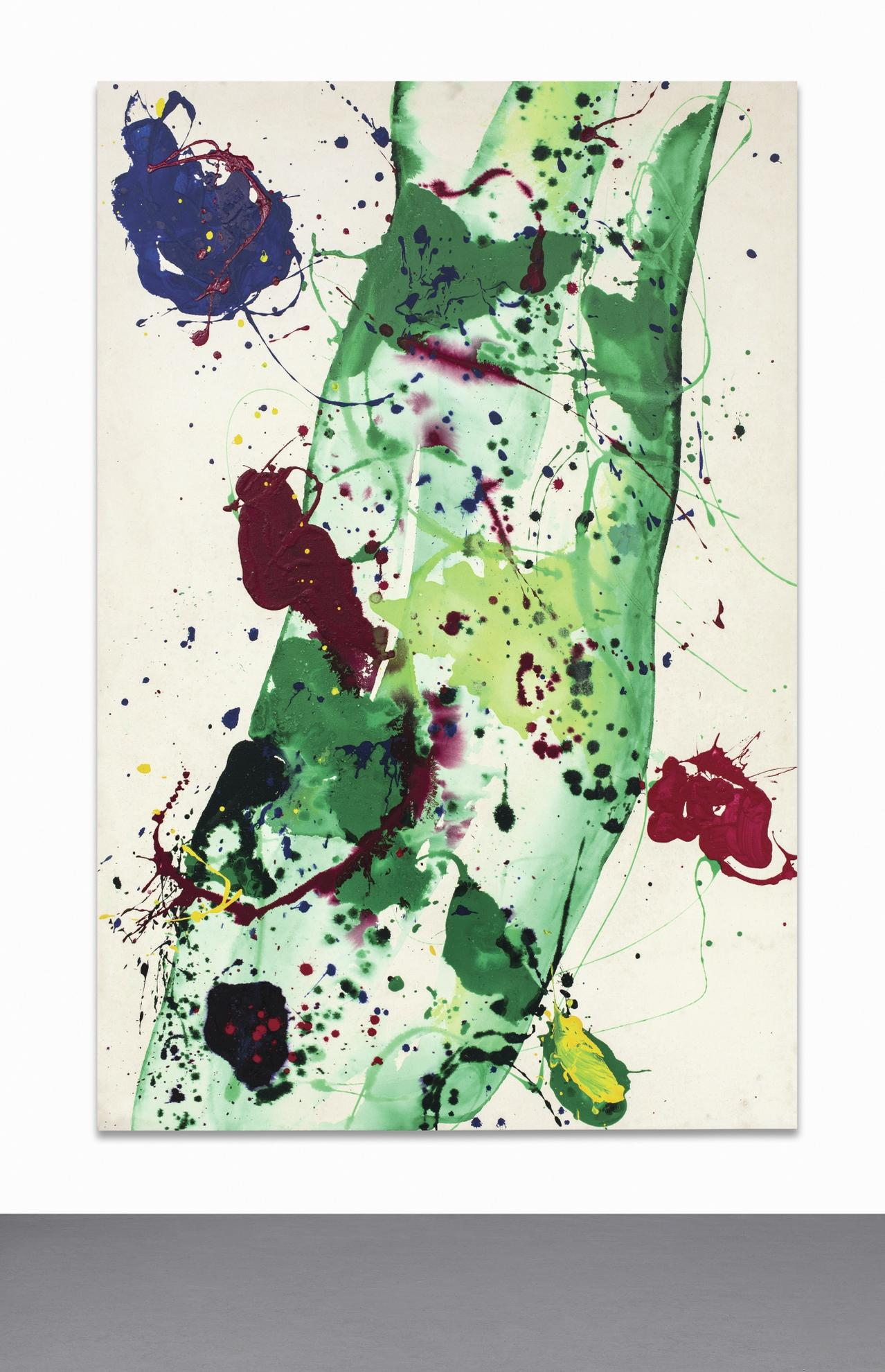 Sam Francis-Having To Do With The Whale-1986