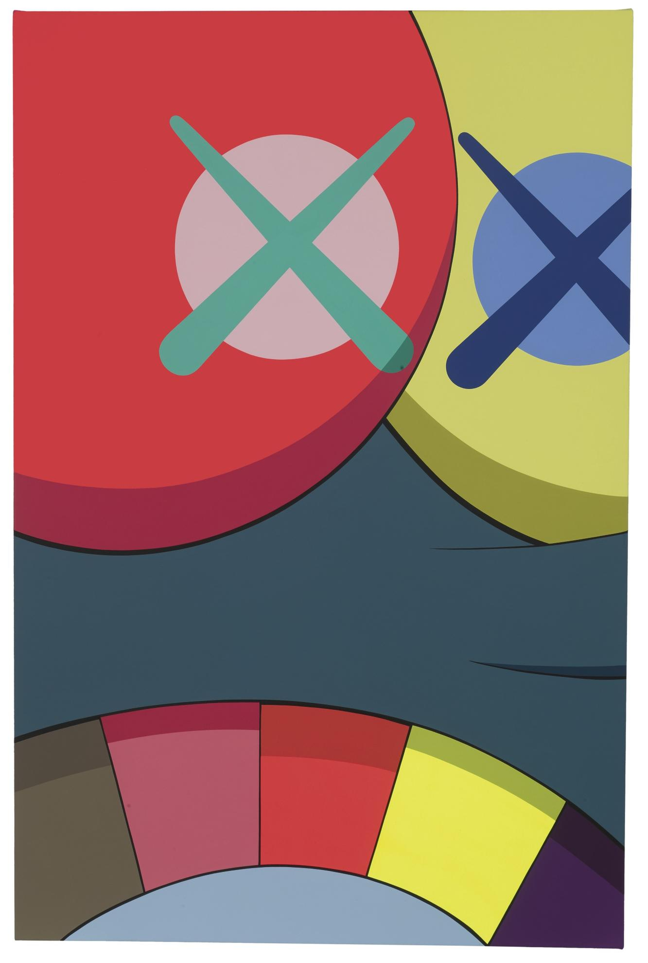 KAWS-Untitled (Color)-2015